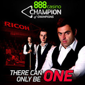 Снукер 888casino Champion of Champions 2013