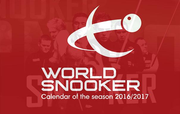 Снукер календарь сезона 2016/2017