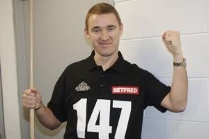11 максимальный брейк Стивена Хендри | Чемпионат мира по снукеру 2012