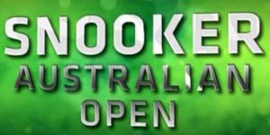 Снукер Australian Open 2013