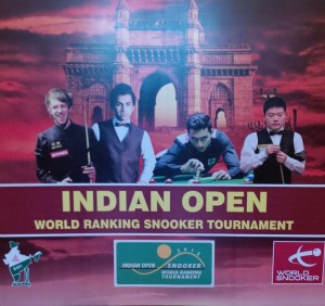 Снукер Indian open 2015