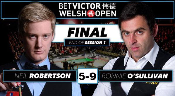 Финал Welsh Open 2016