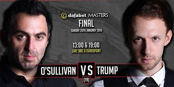Финал The Masters 2019 снукер