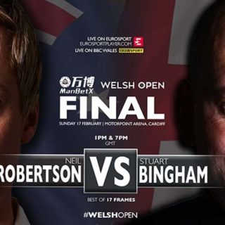 Финал снукерного турнира Welsh Open 2019