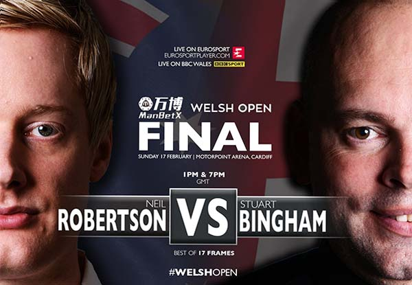 Финал снукерного турнира Welsh Open 2019