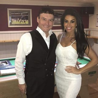 Jimmy White and Jade Slusarczyk